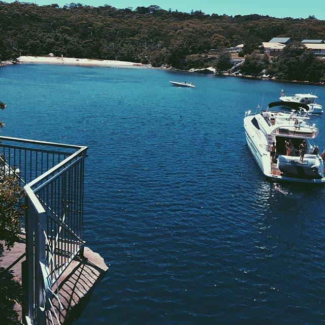 jump rock boating spot sydney