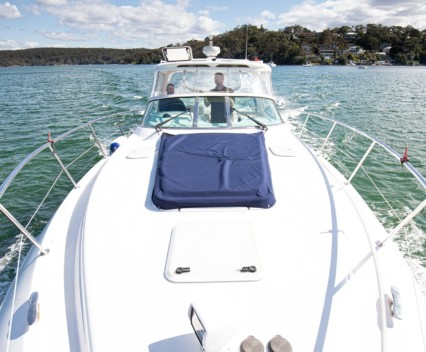 Riviera M360 in Port Hacking