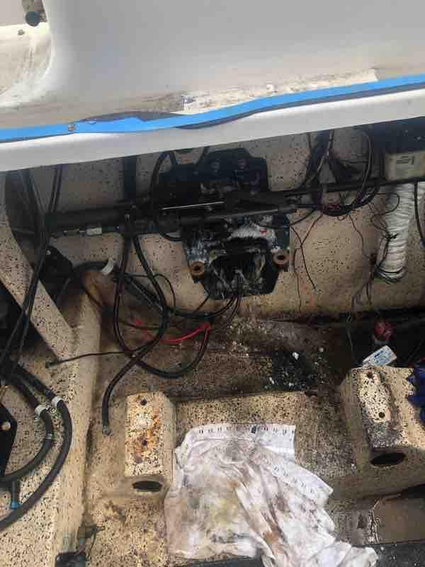 Sunrunner engine removed