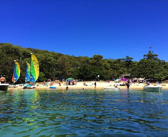 Balmoral Beach Sailing School on Sydney Harbour