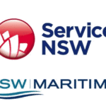 Service NSW and Maritime logos