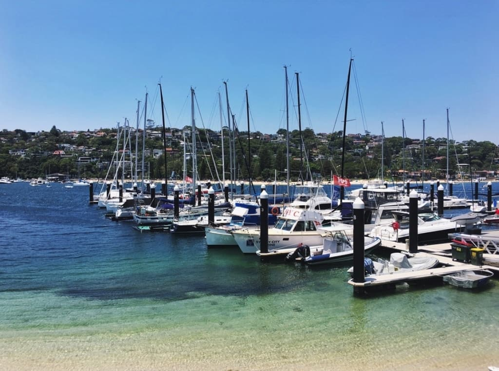 View from the Middle Harbour Yacht Club