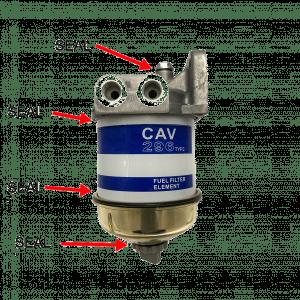 CAV fuel filter