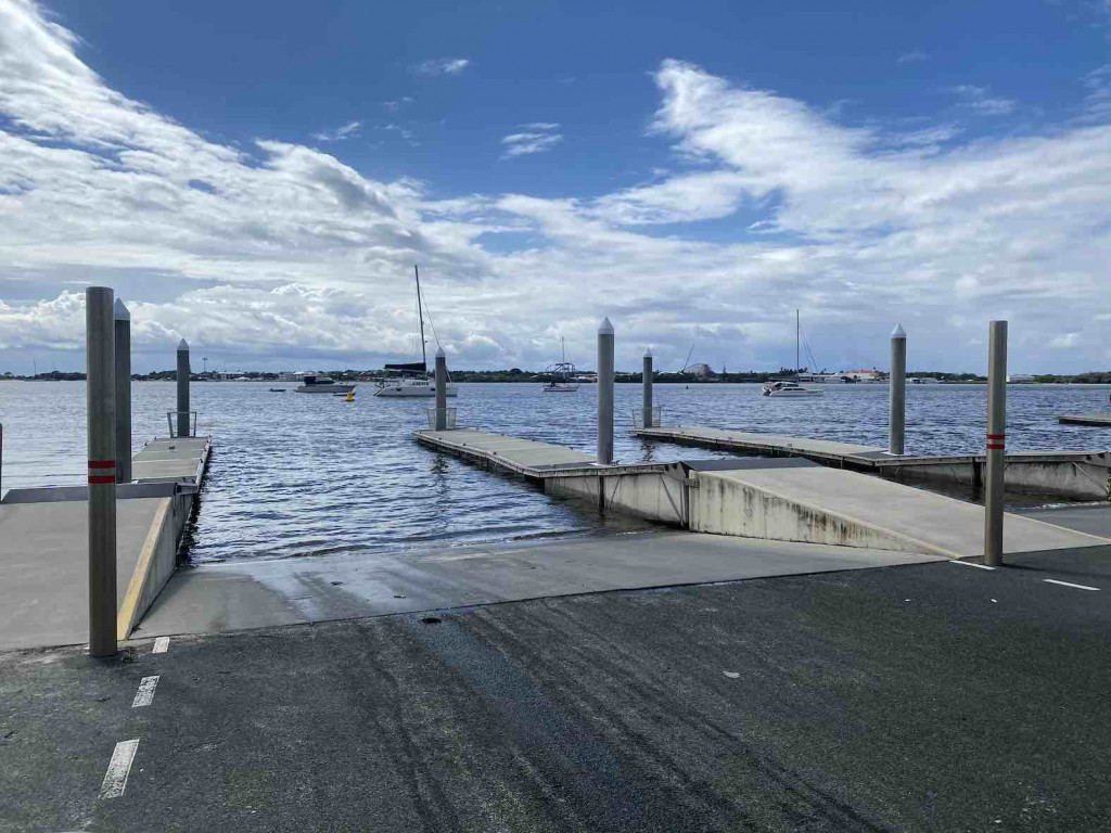 Southport Broadwater Parklands Boat Ramp
