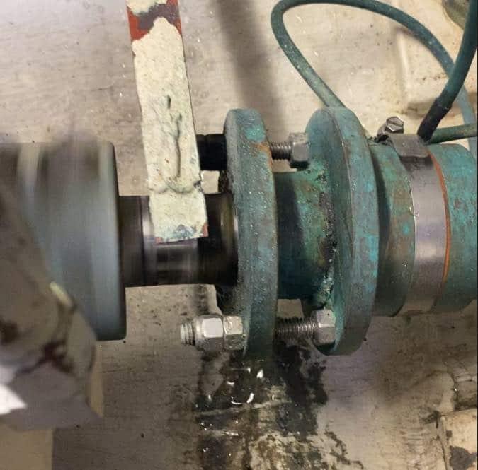 Packing type shaft seal
