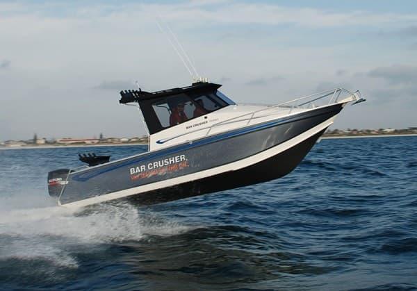 aluminium boats Bar Crusher 760HT Jumping