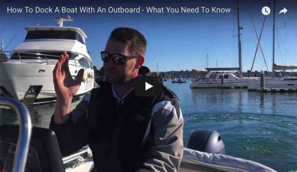 How To Dock With An Outboard