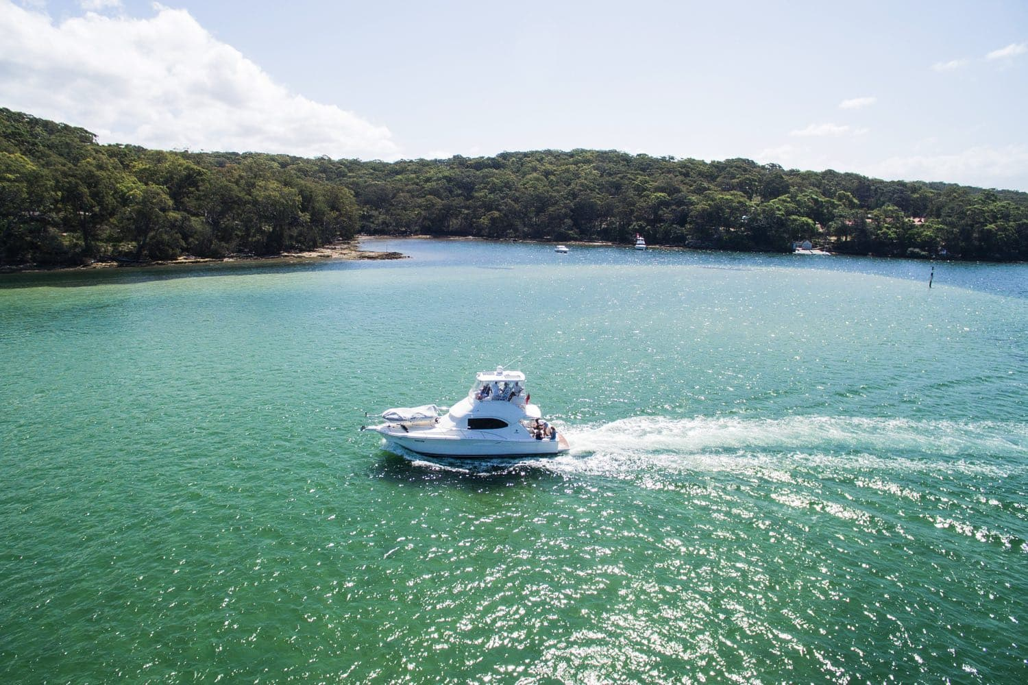 Riviera 37 on Port Hacking
