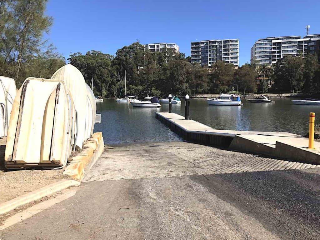 Burns Bay Boat Ramp