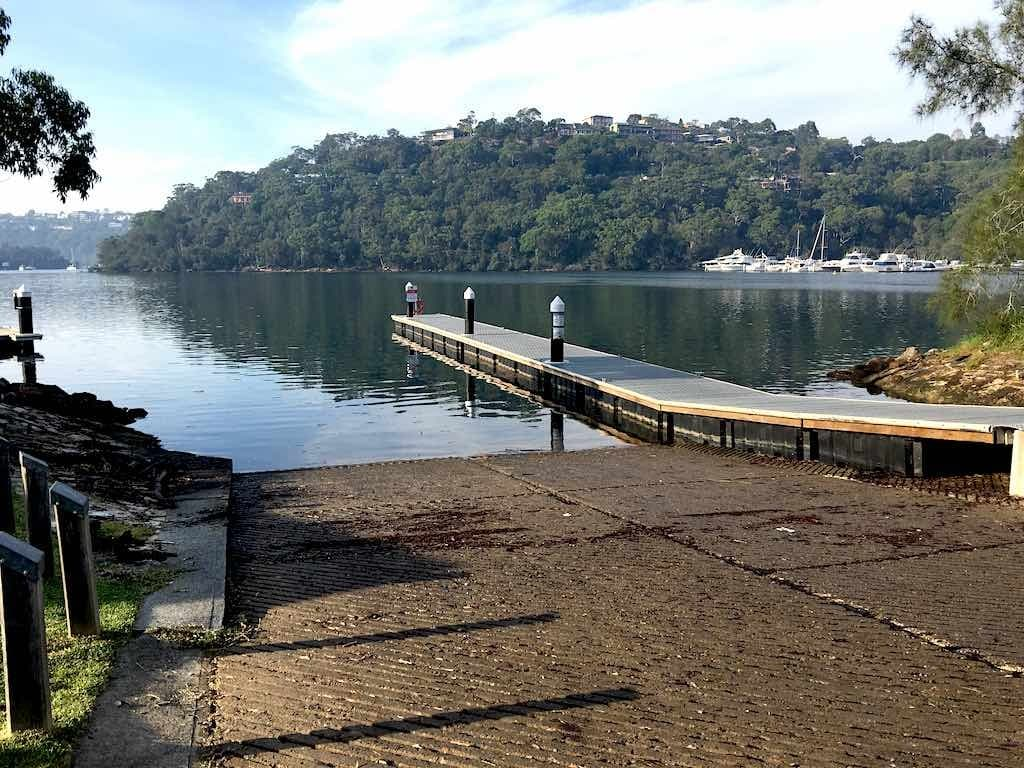 Davidson Park Boat Ramp