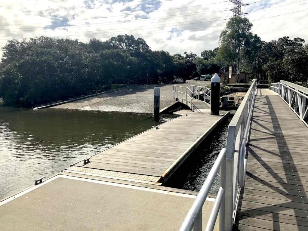 Wharf Road West Ryde Boat Ramp