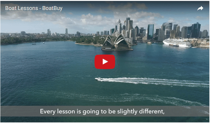 Boat Lessons Video