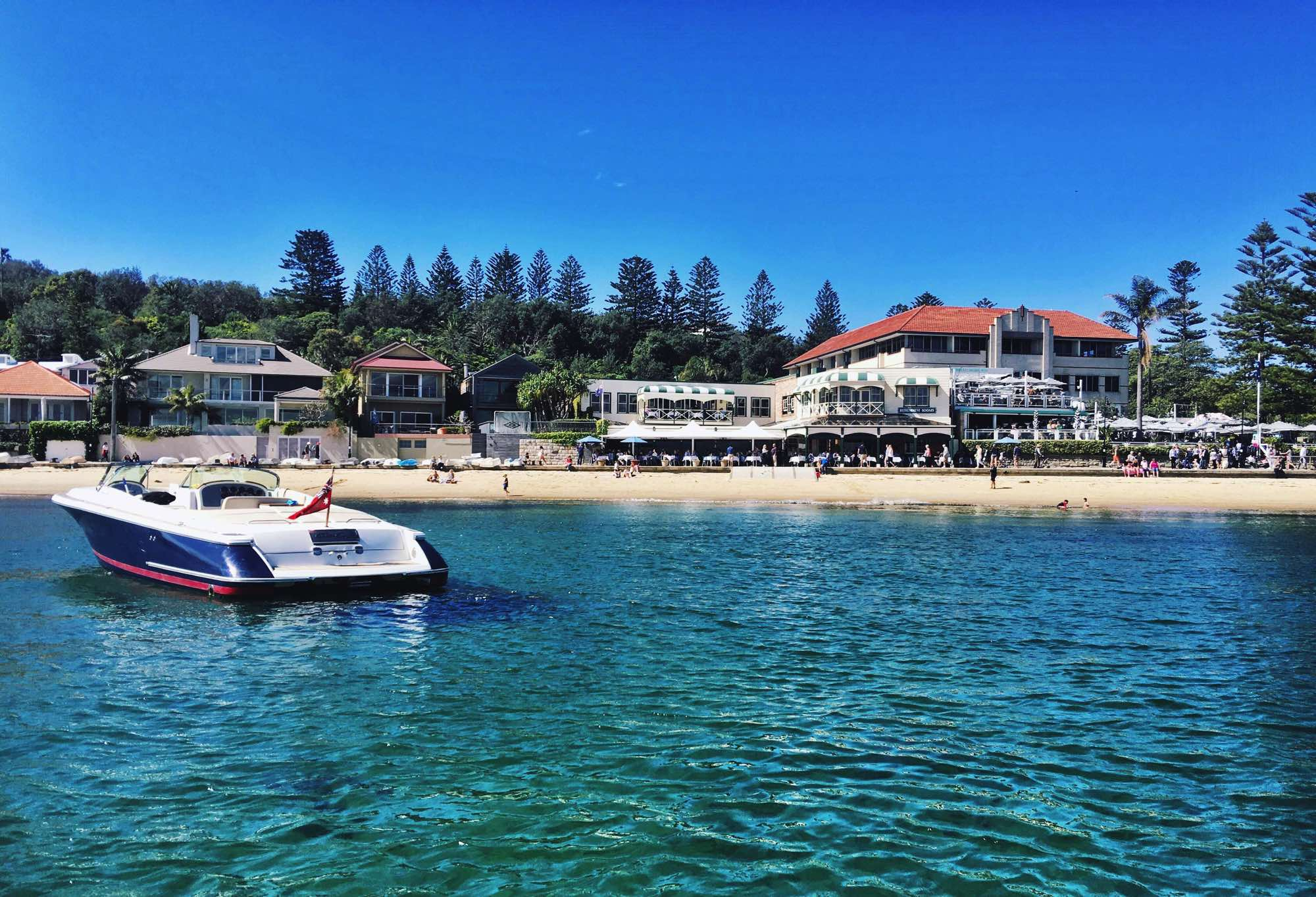 Chris Craft at Watsons Bay